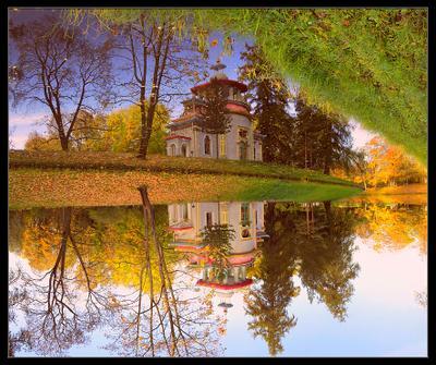 Китайский дворец пушкин парк царское село китайский дворец