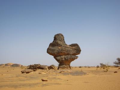 Курочка Ряба. Ливия вулкан кратер горы скалы пустыня