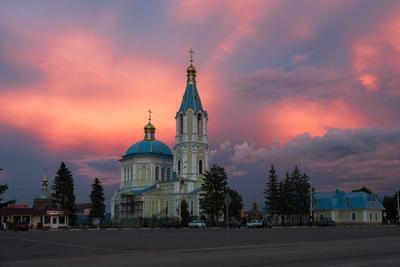 Церковь Иоанна Богослова в г.Рассказово Тамбовской обл