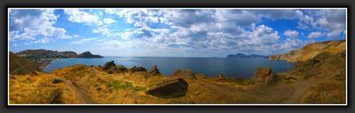 10 дней лета... Орджоникидзе, Коктебель, Крым, Море, Лето