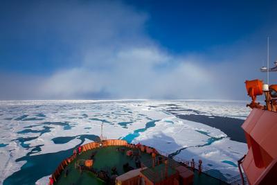 Идём на радугу арктика северный полюс белая радуга