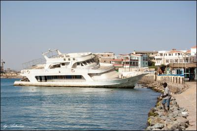 Последний причал порт, Судан, яхта, море, причал