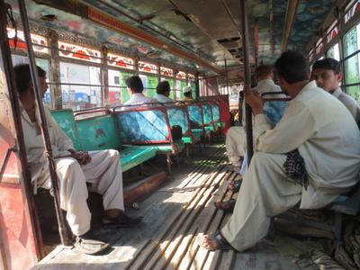 Автобус в Карачи