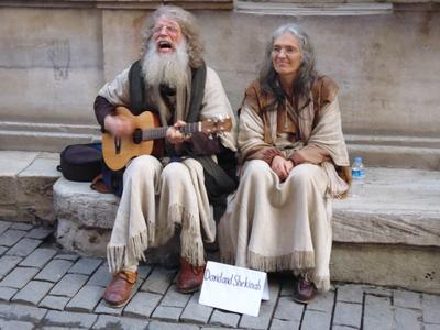Дэвид и Шекинья Istanbul Turkey music