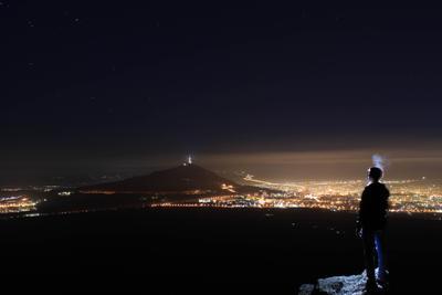 *** Пятигорск город ночь