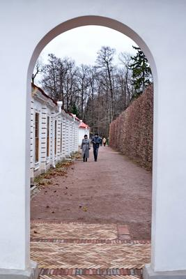 Прогулка в Монплезире Петергоф дворец Монплезир