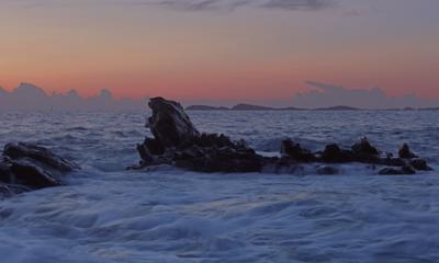 Прилив море прилив рассвет утро природа