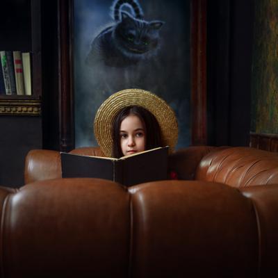Кира Студийный портрет Арт детский фотосессия
