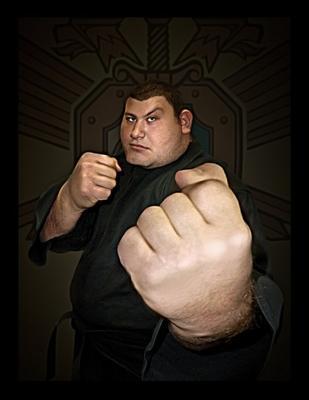Готовь бубен Смагин Иван рукопашный бой шарж