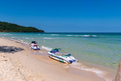 на пляже Бай Сао 3 Вьетнам о Фукуок море