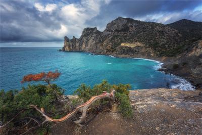 *** крым CanonR6 удивительноеместо небо море новыйсвет прибой Canon landscape камни