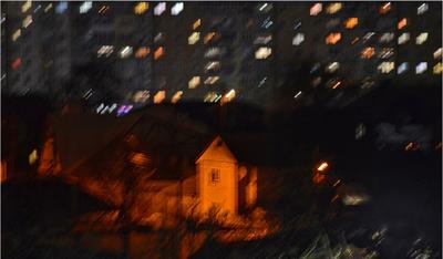 Ночные окна ночь окна город
