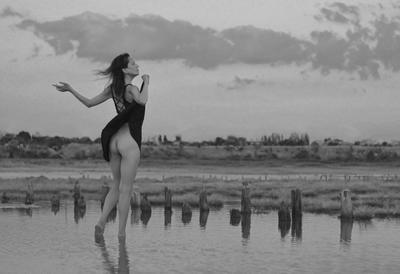 Refreshing breeze девушка лиман освежающий ветер