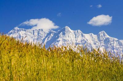 Гуржа Химал, 7193м Гуржа Химал, Гималаи, Непал