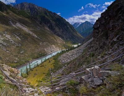 перевал горы алтай река аргут йедыгем