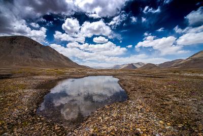 По дороге к озеру Каракуль, Восточный Памир