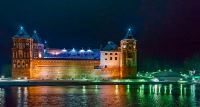 Мирский замок.Белоруссия