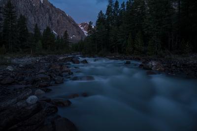 Горная река актру алтай река пейзаж