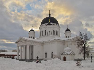 Староярмарочный собор Нижний_Новгород собор весна
