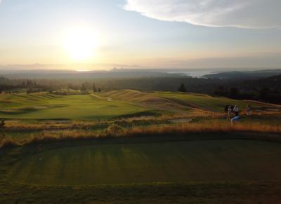 Поля для гольфа в Ньюкастле Seattle USA golf su