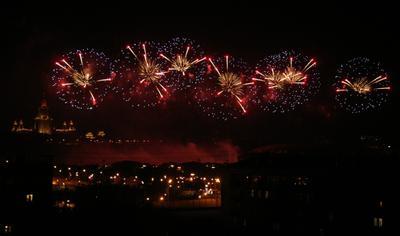 ***Фестиваль фейерверков на Воробьевых горах фейерверк пиротехника салют фестиваль воробьевы горы