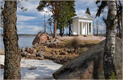 Храм Нептуна монрепо выборг балтика
