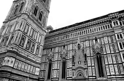 Duomo and Bell Tower Флоренция Италия город Duomo and Bell Tower архитектура