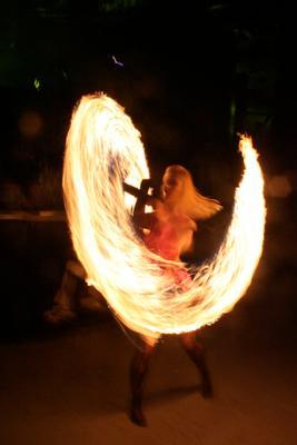Повелительница огня Огонь, факел