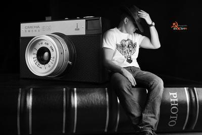 Я и мой первый фотоаппарат)))) Смена 8 М