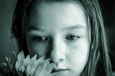 Аня портрет ребенок девочка