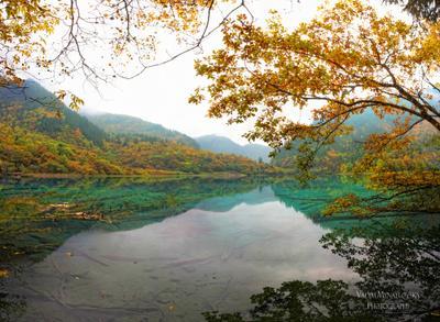 Jiuzhaigou #20 Jiuzhaigou Цзючжайгоу долина_ _деревень Jiuzhai_valley China Китай vakomin