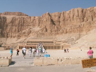 Храм Хатшепсут песок песчанник памятник культуры
