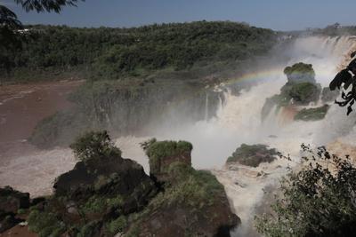 Глотка дьявола Игуасу водопад
