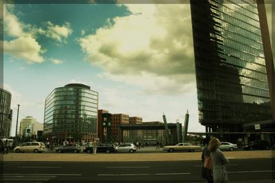 Potsdamer Platz Berlin,  Potsdamer Platz, Берлин, Потсдамер платц