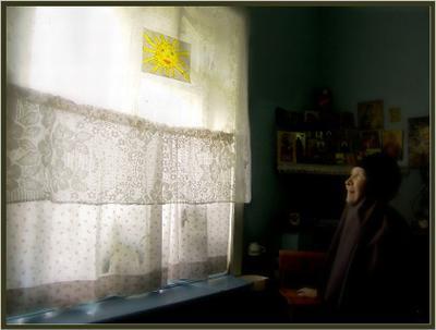 В монашеской келье. монастырь,храм,женщина,Алтай