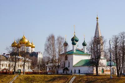 Храмы...храмы... Ярославль храм церковь собор