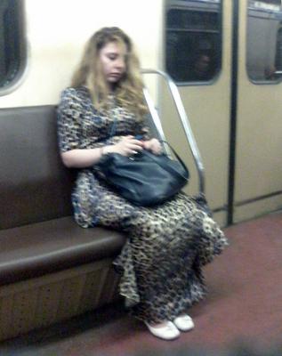 *соня метро пассажирка соня