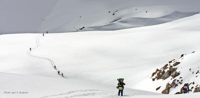 Странники Кавказ Приэльбрусье КБР туризм горы туристы поход