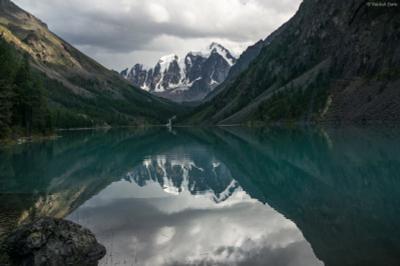 Озеро Шавло Горы Алтай Шавло озеро небо