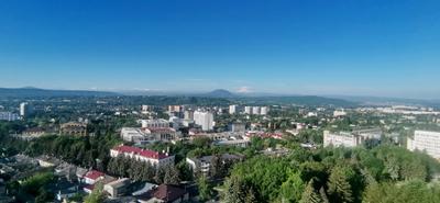 Вид на Эльбрус из Пятигорска