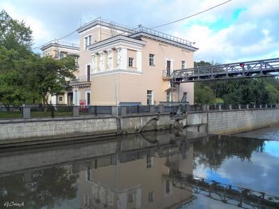 ***Шлюз на Яузе (архитектор Георгий Гольц, постройка 1937 - 1939 г.г.) Moscow шлюз Яуза отражение