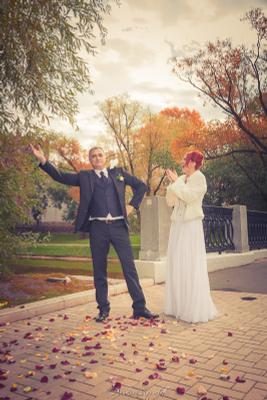 Любовь и голубь))) Дмитрий Кружков,FotoVitamin,свадьба,свадебный фотограф,
