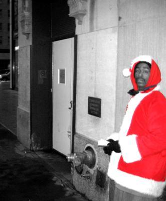 Ну ты скоро, Снегурочка? декабрь Нью-Йорк Снегурочка Дед Мороз New York Santa December Новый Год New Year