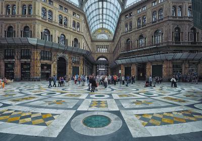 Большой торговый пассаж. efim58 в Неаполе Италия торговый пассаж