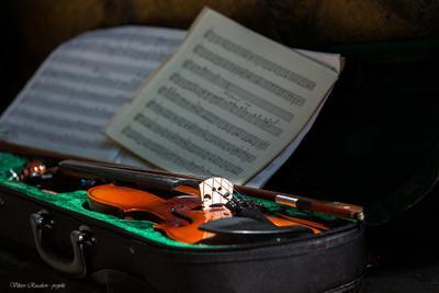 Музыка... скрипка Viktor Rusakov projekt ноты