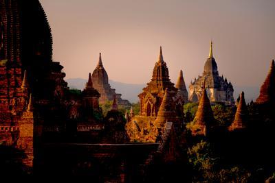 Пагоды Старого Багана bagan burma myanmar