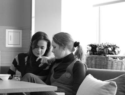 О чем говорят девушки? Москва кафе 2007
