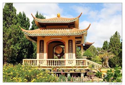 Буддийский комплекс Чук Лам (Truk Lam) vietnam dalat truk lam вьетнам далат чук лам