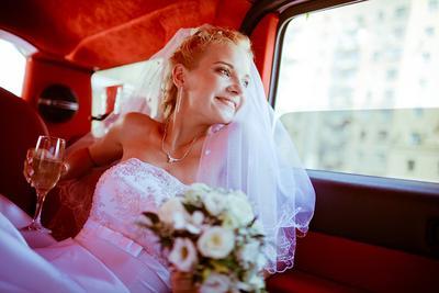 Настя свадьба девушка