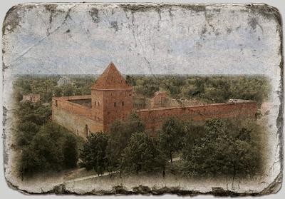Лидский замок Лида Беларусь старый замок